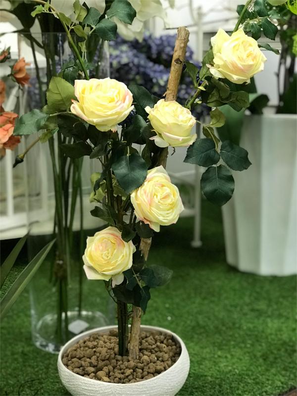 déco Fleurs  fiori artificiali rose da giardino