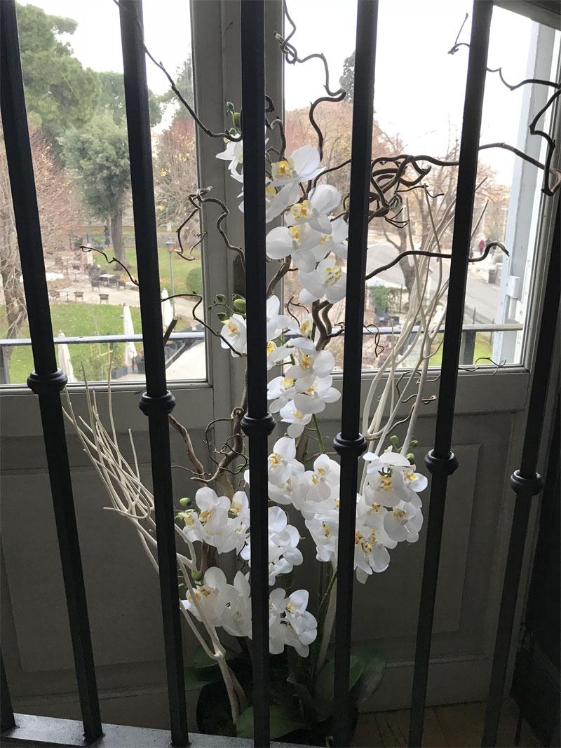 déco Fleurs Fiorii artificiali casina valadier