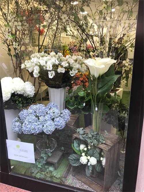 déco Fleurs fiori artificiali via tacito roma