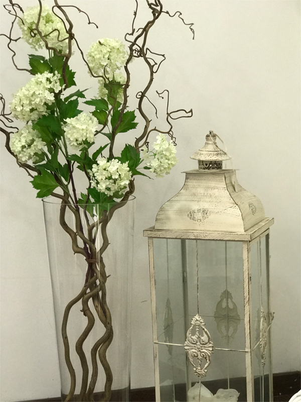 déco Fleurs  fiori artificiali Viburno
