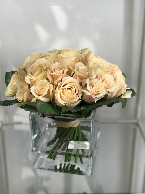 Rose artificiali effetto acqua