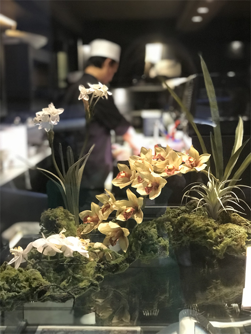 Deco Fleurs fiori artificiali cymbidium