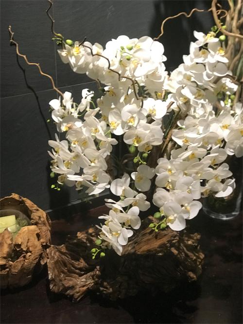 déco Fleurs Orchidee finti fiori artificiali