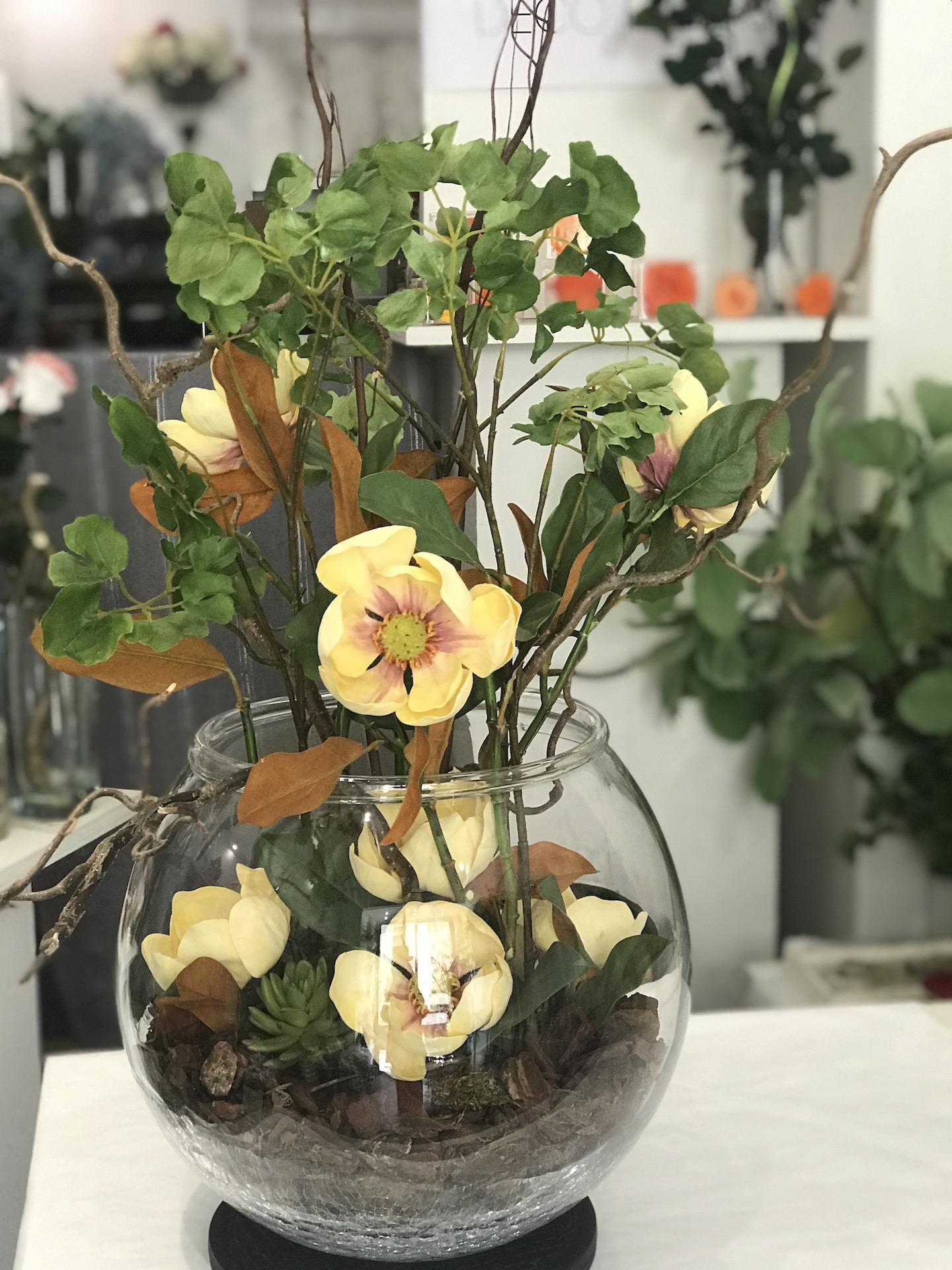 Magnolia_ortensia_Deco_fleurs