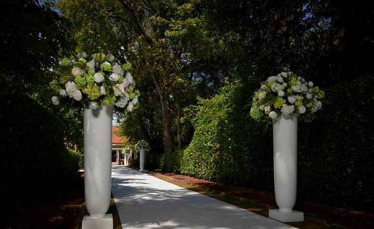 déco Fleurs fiori artificiali matrimonio