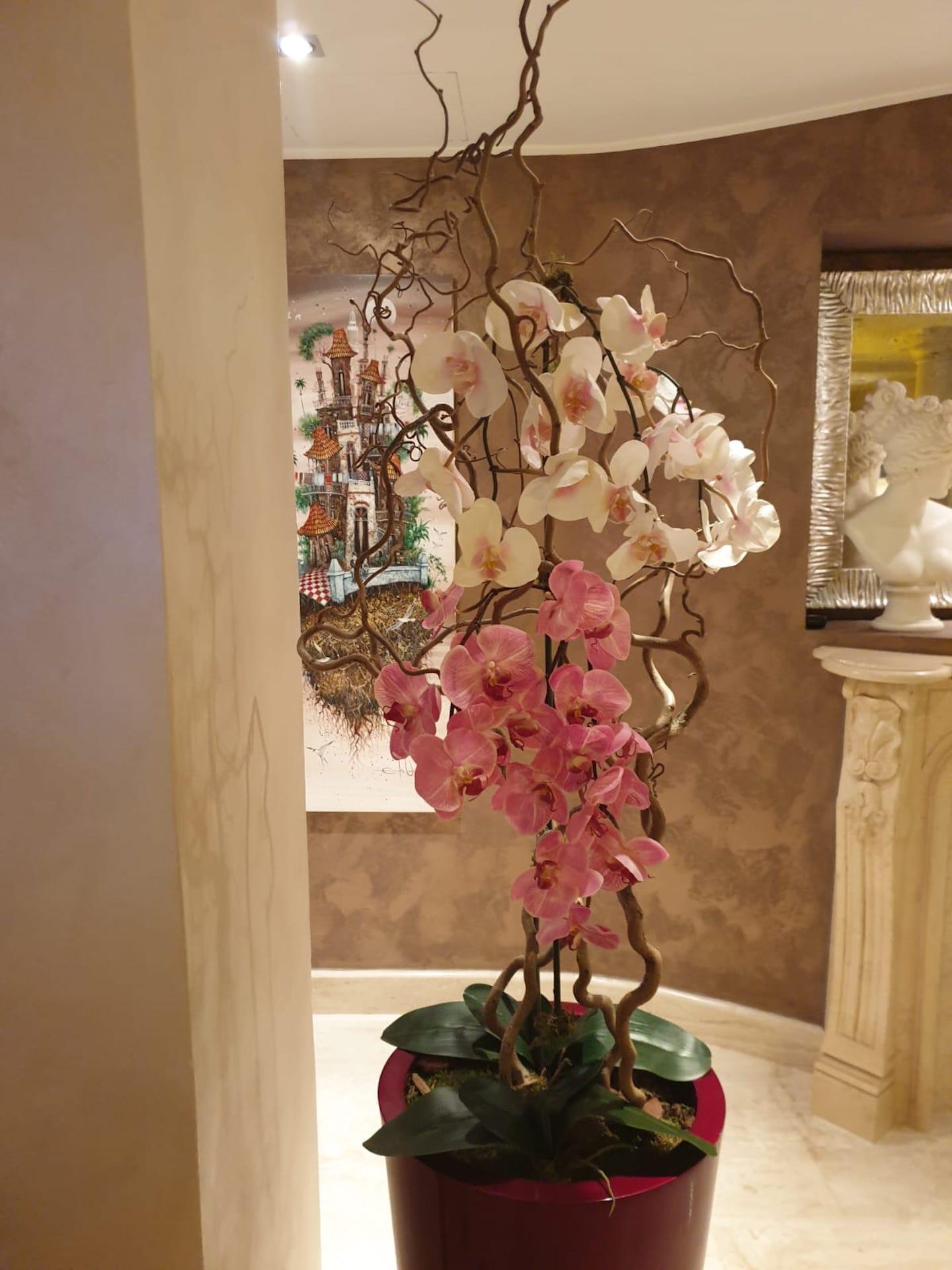 Orchidea_Vaso_alto_Fiori_artificiali_Deco_fleurs