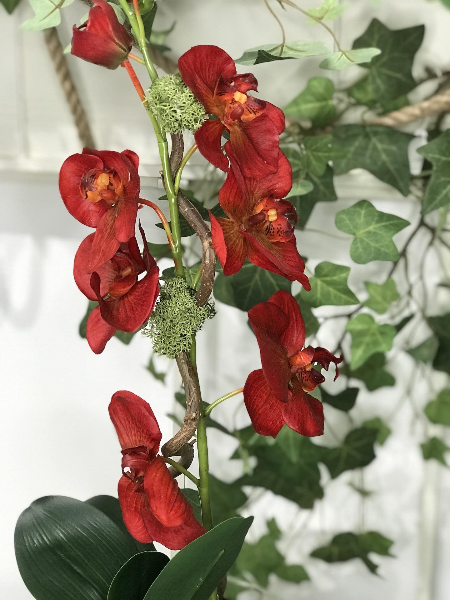 Orchidea_artificale_rossa_deco_fleurs