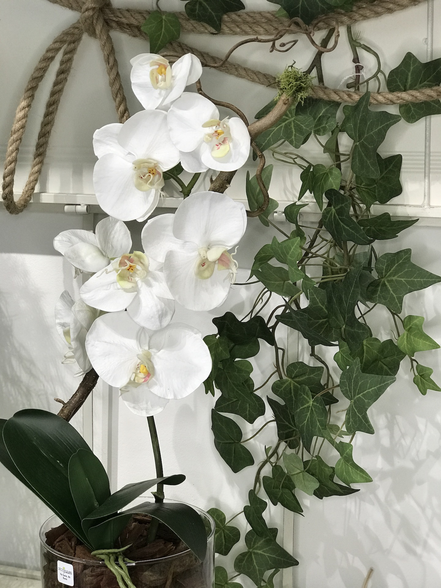 Orchidea_finta_bianca_deco_fleurs