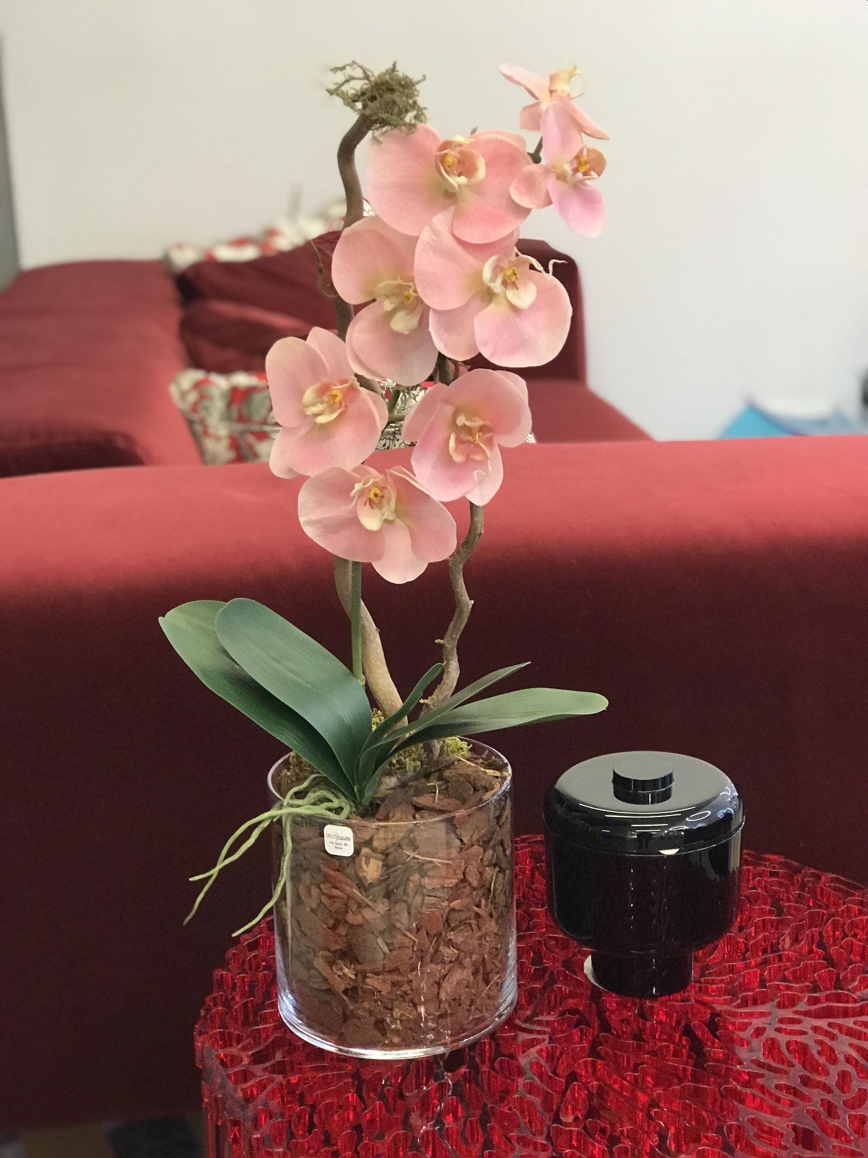 orchidea artificiale kartell deco fleurs