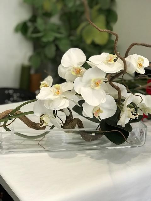 Nocciolo contorto orchidea artificiale real touch