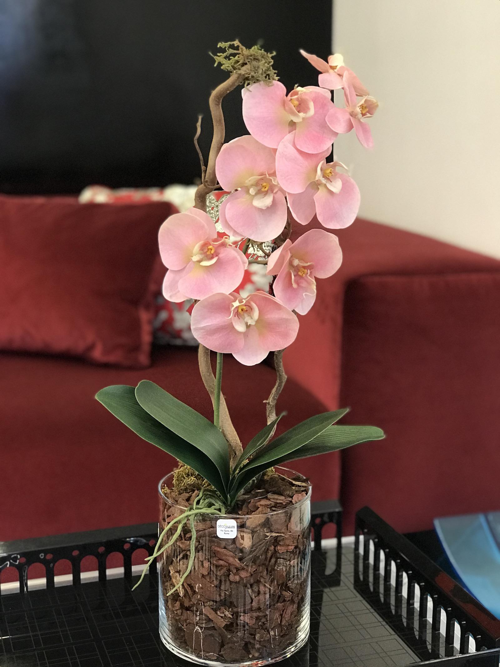 Orchidea artificiale divano kartell