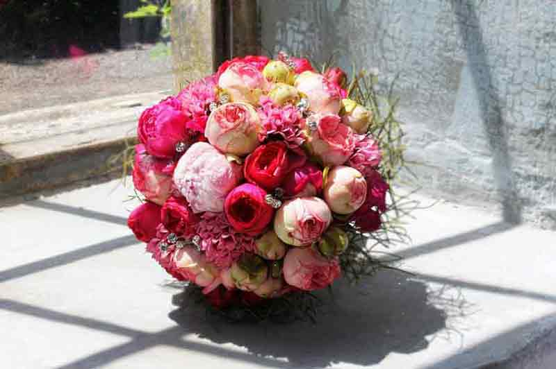 Sandra-Balducci-bouquet-wedding-Peonia-rossa-flower
