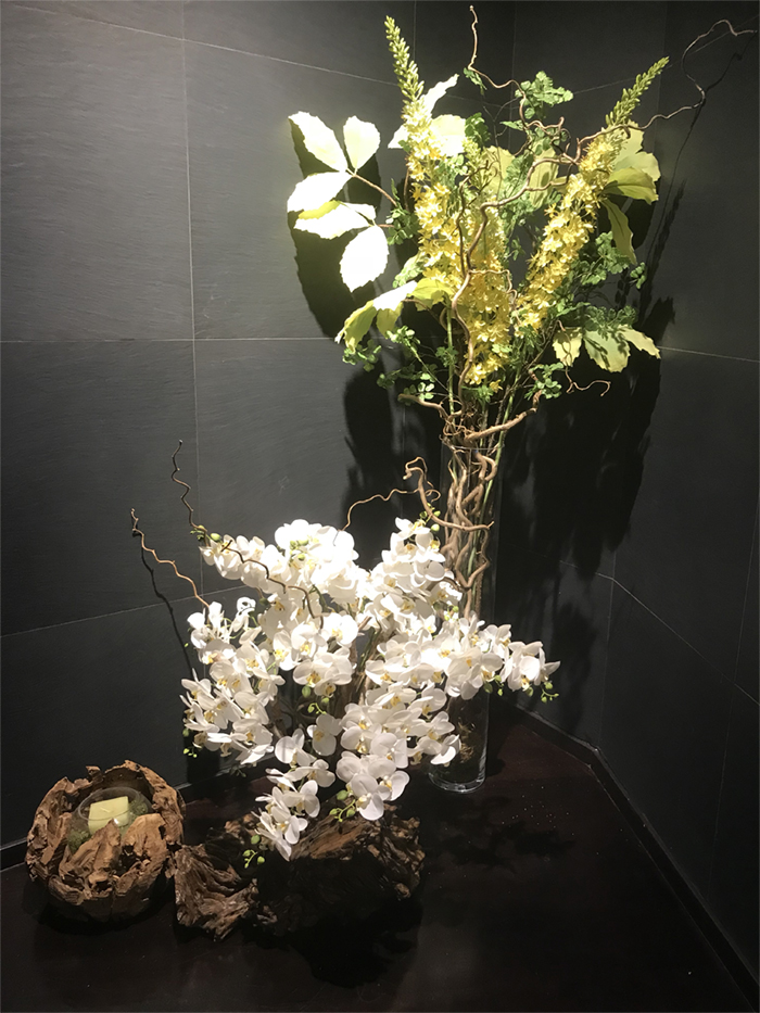 Deco Fleurs fiori artificiali orchidea eremurus