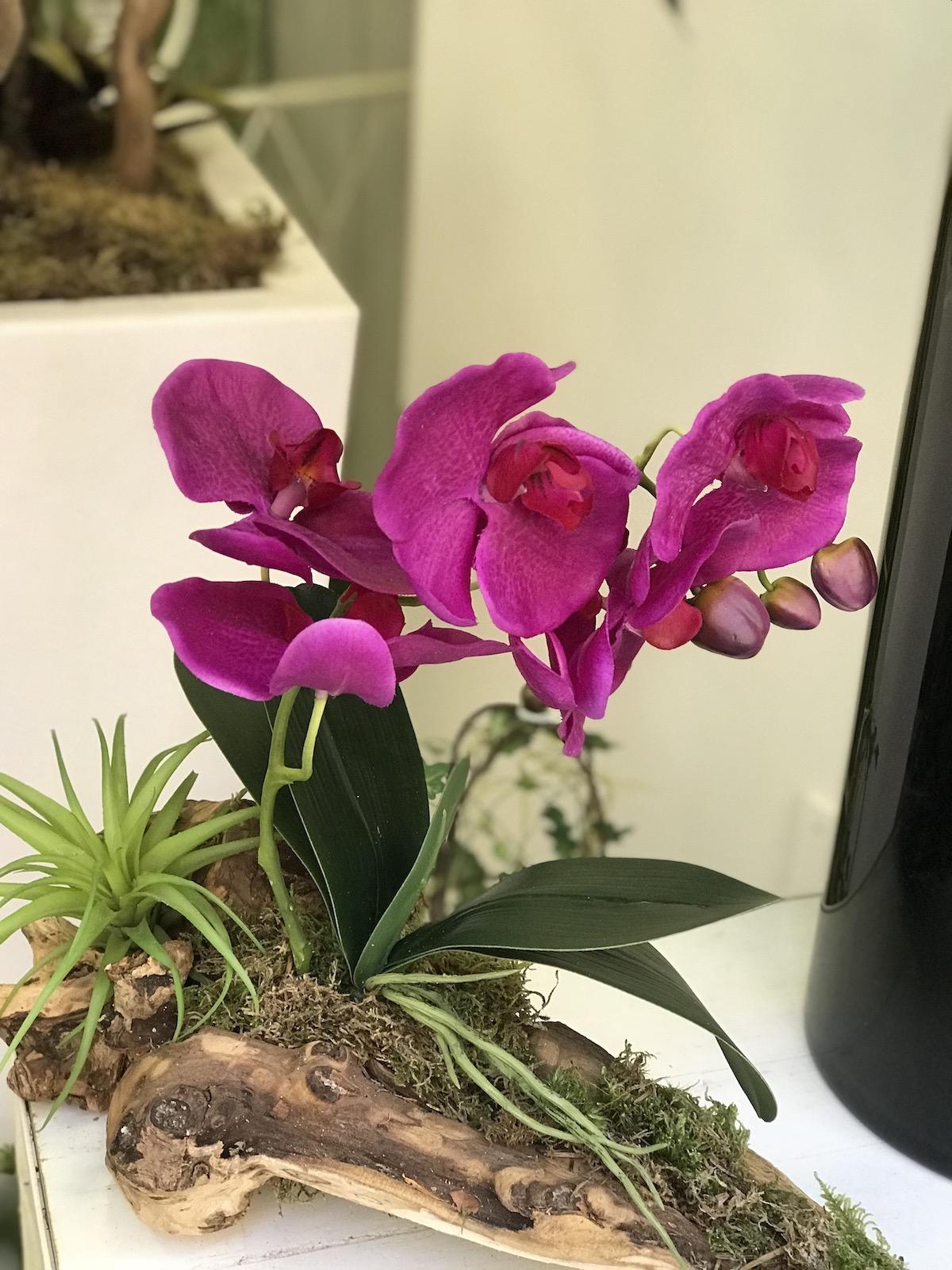 Tronco_orchidea_Fiori_artificiali_Deco_fleurs