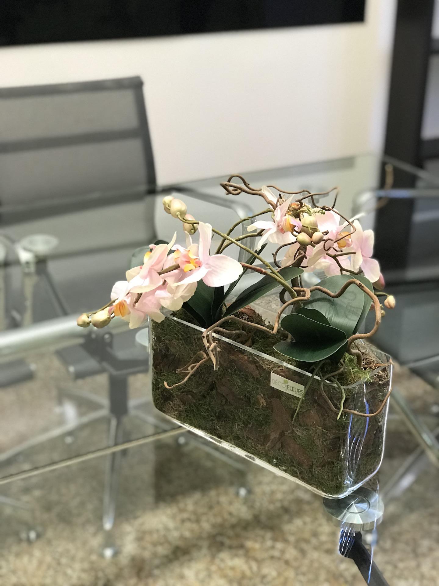 Ufficio_orchidea_Fiori_artificiali_Deco_fleurs