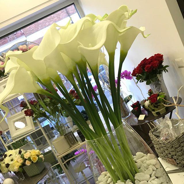 sandrabalducci fiori artificiali calle real touch