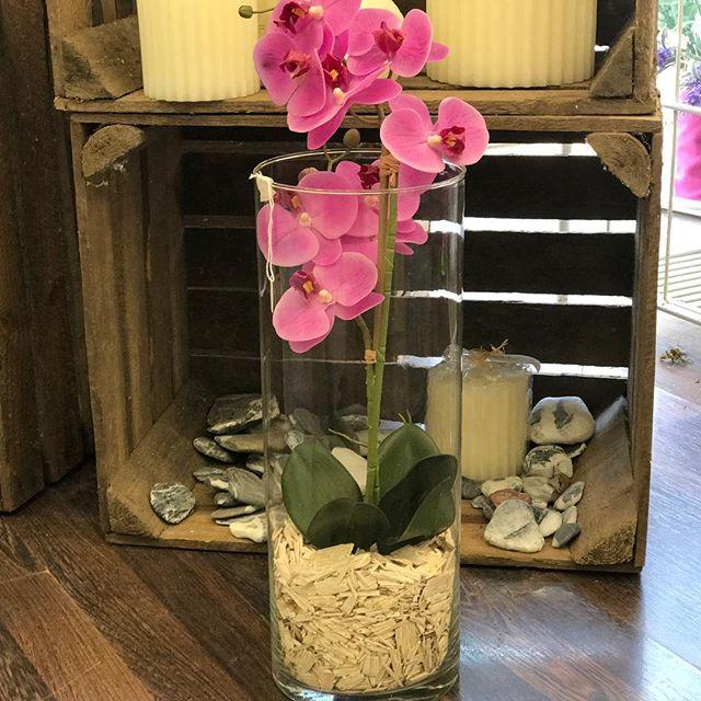 sandrabalducci fiori artificiali orchidea real touch