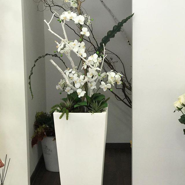 sandra balducci fiori artificiali pianta orchidea