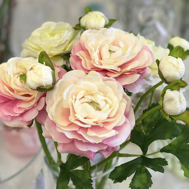 déco Fleurs fiori artificiali ranuncoli