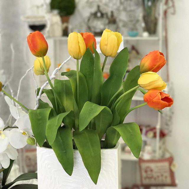 sandrabalduccifiori tulipani real touch artificiali