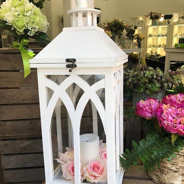 sandrabalducci lanterna con fiori real touch 2