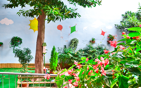 Giardino - Nido d'Infanzia Montessori La Magnolia