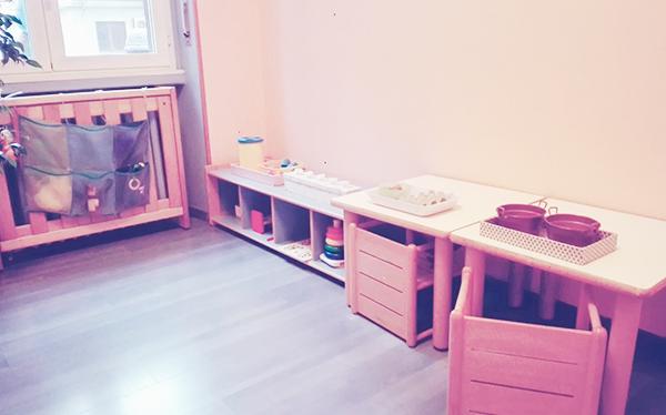 Sala Blu - Nido d'Infanzia Montessori La Magnolia