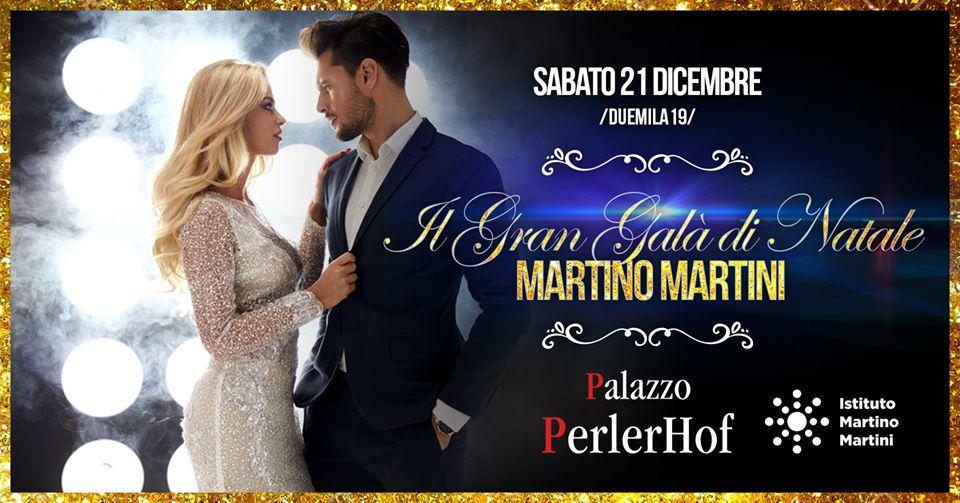 Martino Martini  Il Gran Galà di Natale  Palazzo PerlerHof