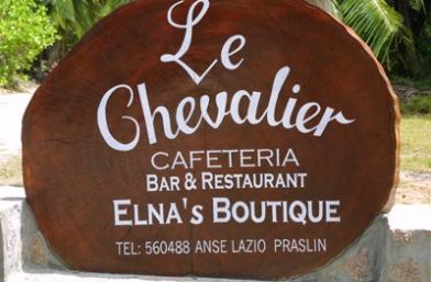 Le Chevalier Bay Restaurant - Praslin Island
