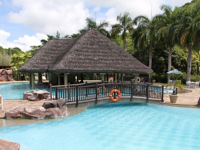 Pool Grill Restaurant - Praslin Island
