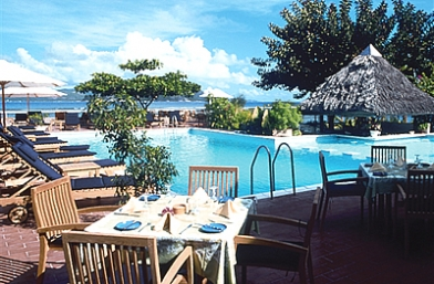 Pool Side Restaurant - La Digue