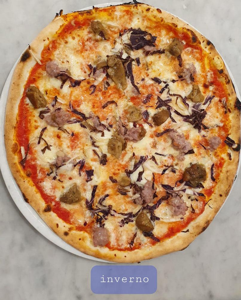 PIZZA INVERNO - La Fermata