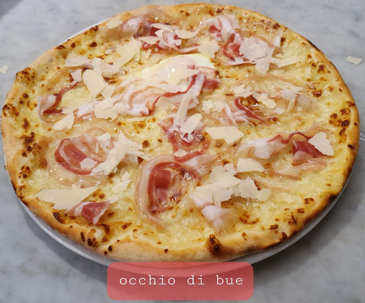 PIZZA OCCHIO DI BUE - La Fermata