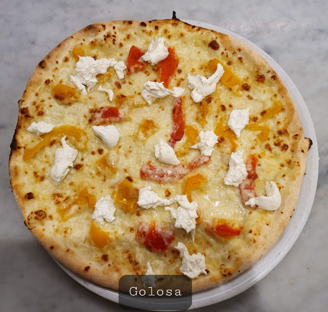 PIZZA GOLOSA - La Fermata