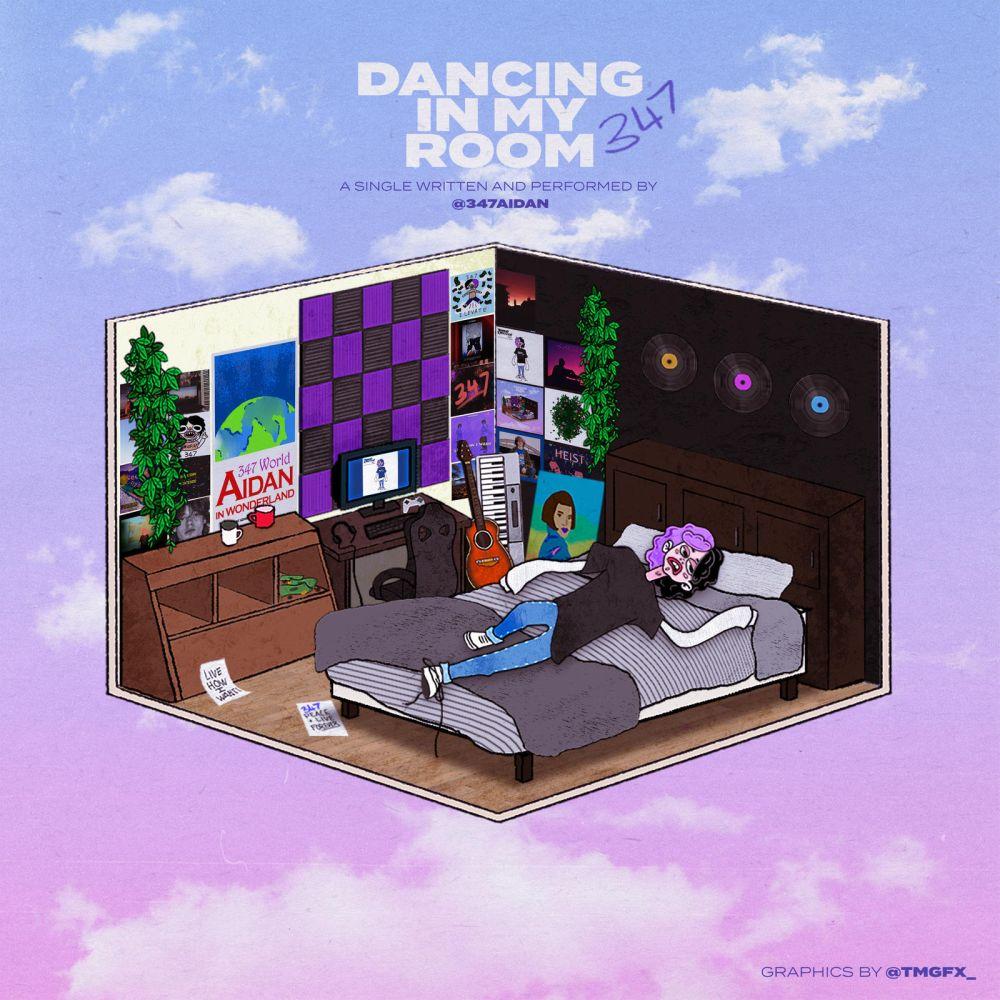 """347AIDAN: da venerdì 15 gennaio in radio """"DANCING IN MY ROOM"""", il nuovo singolo del giovane artista canadese"""