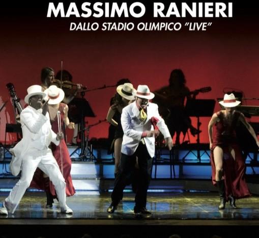 """MASSIMO RANIERI: cofanetto da collezione, dal 23/12 arriva l'album 'Dallo Stadio Olimpico """"Live""""'"""