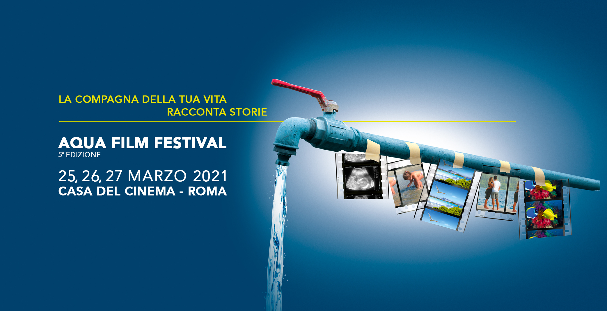 AQUA FILM FESTIVAL 25-27 MARZO SU MY MOVIES E ALLA CASA DEL CINEMA DI ROMA