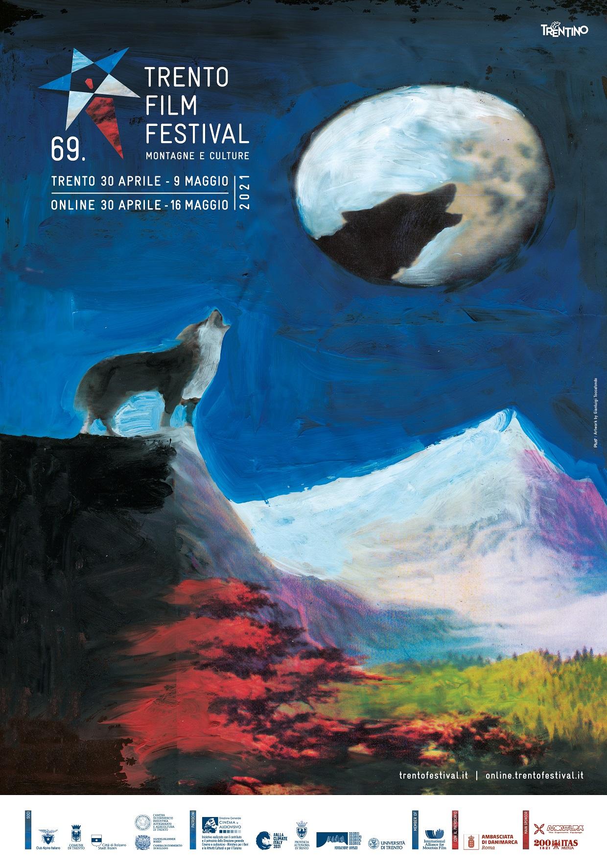 69. Trento Film Festival: Gianluigi Toccafondo firma il manifesto ufficiale   Dal 30 aprile al 9 maggio
