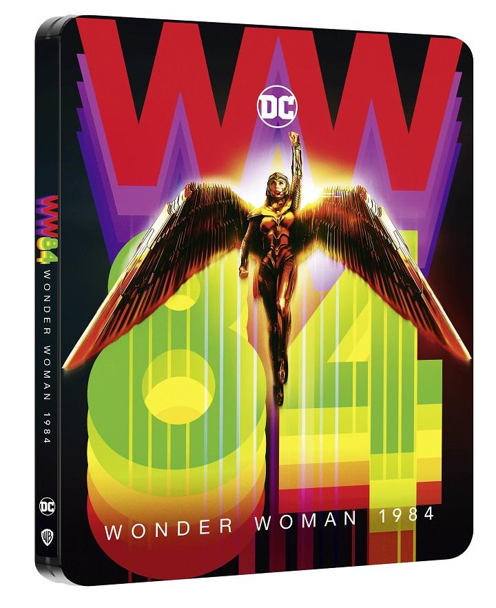 WONDER WOMAN 1984 dal 12 marzo in DVD, Blu-Ray, 4K e Steelbook 4K   Aperto il pre-order