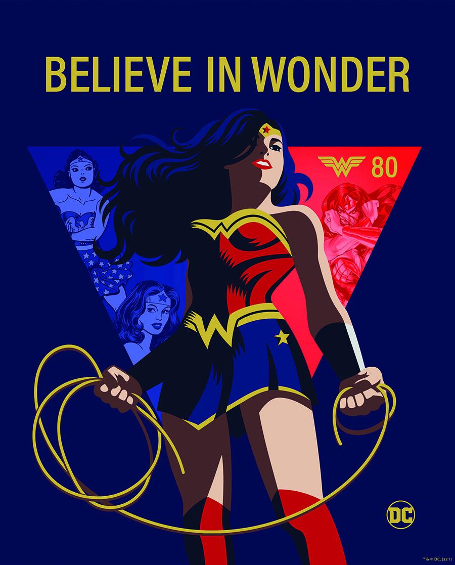 80° anniversario di Wonder Woman, al via la campagna