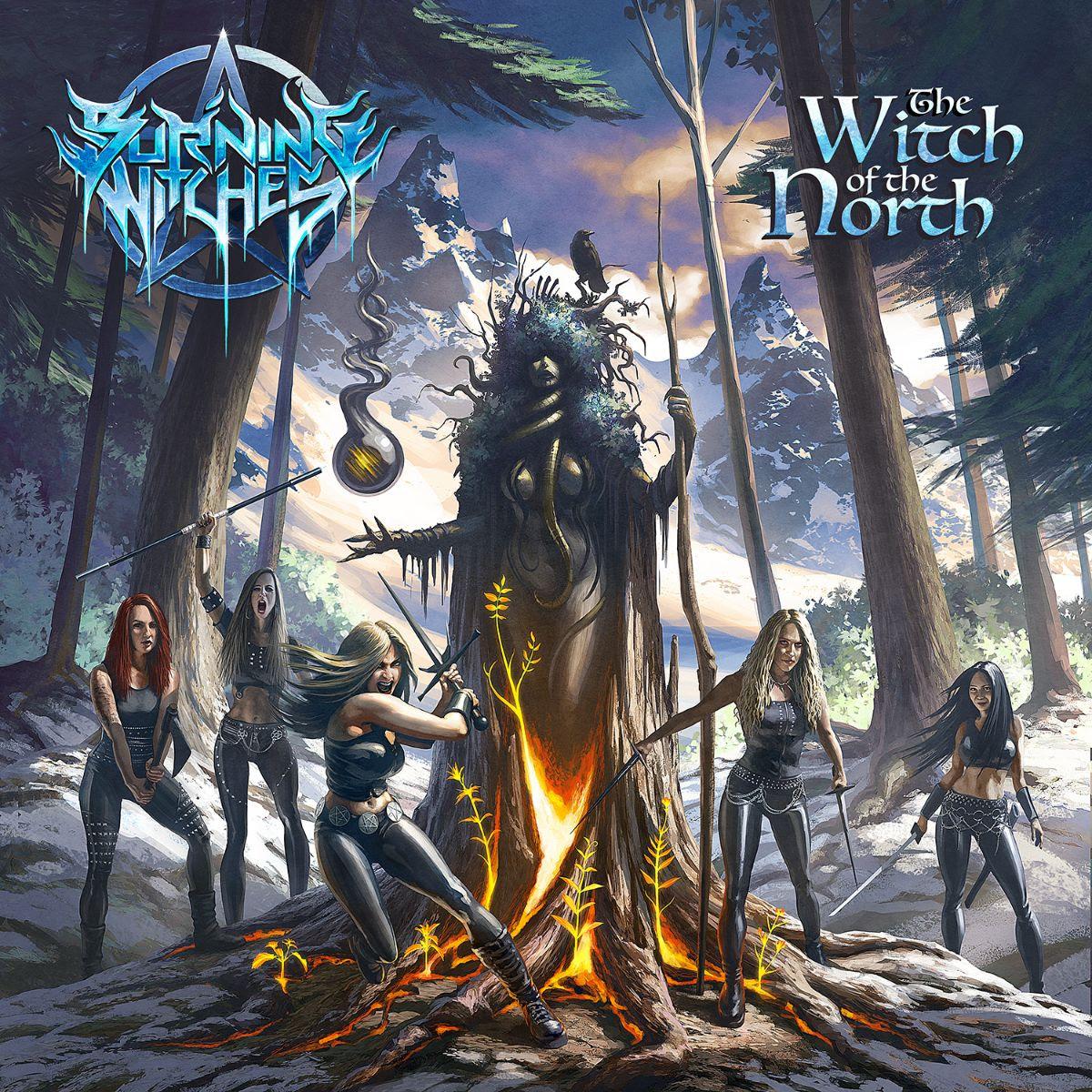 BURNING WITCHES - svelano la copertina, titolo e data di uscita del nuovo album!
