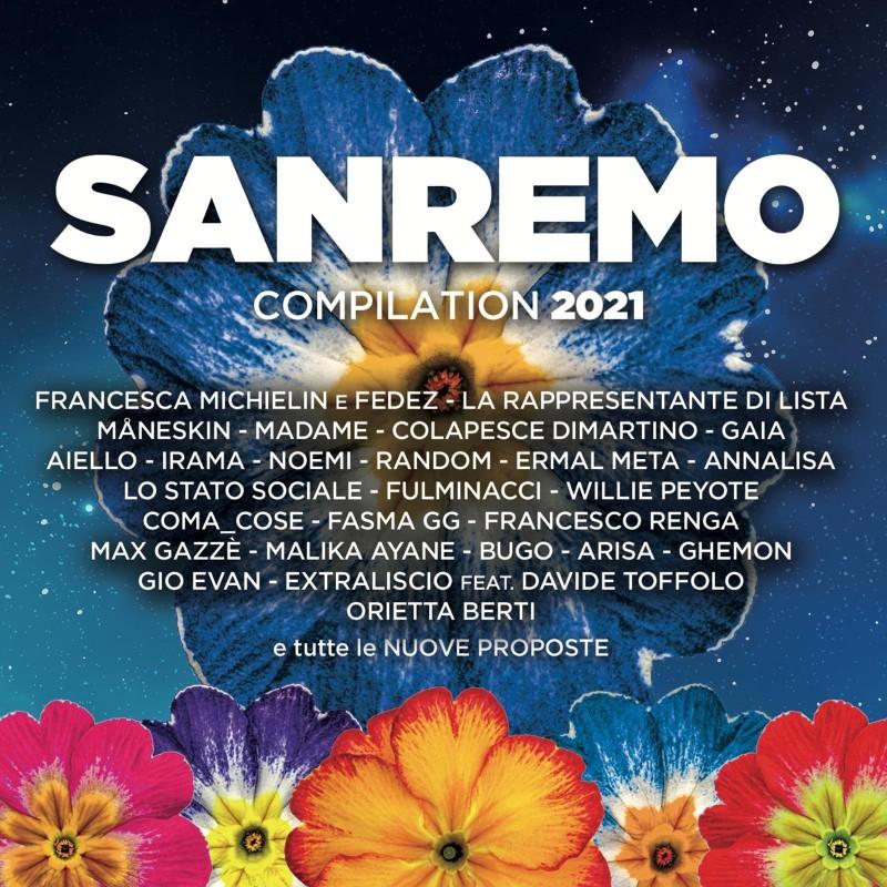 Esce la compilation ufficiale del Festival di Sanremo 2021, pubblicata e distribuita da Sony Music in collaborazione con Radio Italia.