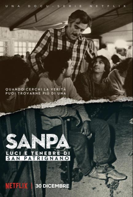 SANPA: LUCI E TENEBRE DI SAN PATRIGNANO, la prima docu-serie originale italiana Netflix disponibile dal 30 dicembre
