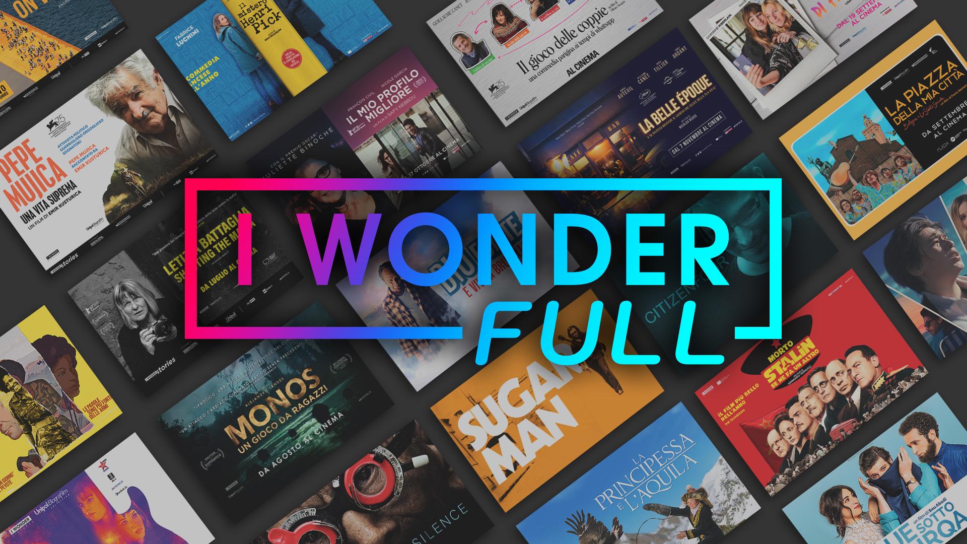 Settimana dal 14 gennaio all'insegna del cinema italiano su IWONDERFULL con tre autori celebrati nei maggiori festival internazionali.