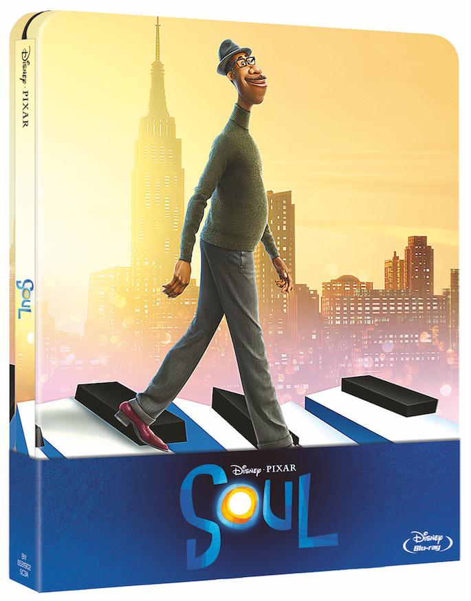 SOUL || IL FILM DISNEY E PIXAR DISPONIBILE DAL 31 MARZO IN BLU-RAY, DVD E STEELBOOK®