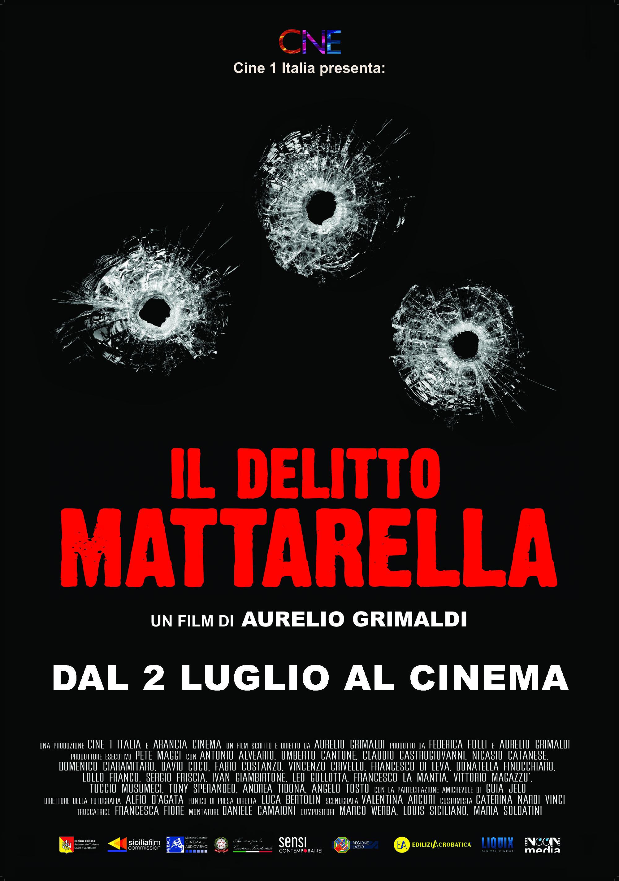 SKY CINEMA DUE - IL DELITTO MATTARELLA IN PRIMA VISIONE IL 6 GENNAIO e ON DEMAND
