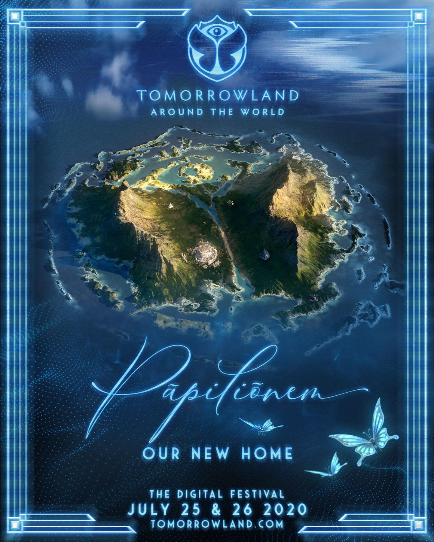 L'isola magica di Papilionem dà il benvenuto al Popolo di Tomorrowland per Tomorrowland Around The World, the digital festival