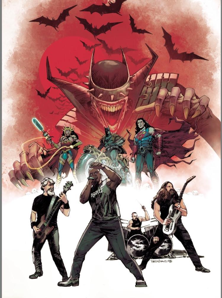 SEPULTURA – diventano degli eroi dei fumetti nella serie della DC Dark Nights: Death Metal!