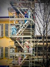 Il Cantiere Teicos di Corso Garibaldi diventa il set di una sfilata