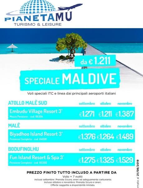 PIANETA MU - Maldive